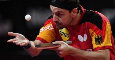 Timo Boll hat sein Auftaktmatch in Tokio gewonnen. Foto: Piotr Nowak/PAP/dpa