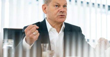 SPD-Kanzlerkandidat Olaf Scholz. «Die SPD garantiert ein stabiles Rentenniveau», so der derzeitige Vizekanzler gegenüber der Deutschen Presse-Agentur. Foto: Kay Nietfeld/dpa