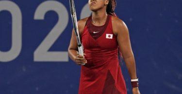 Japans Tennis-Idol Naomi Osaka ist beim olympischen Turnier in Tokio ausgeschieden. Foto: Seth Wenig/AP/dpa