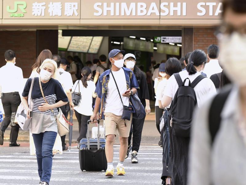 Die Corona-Zahlen steigen in Tokio weiter an. Foto: -/kyodo/dpa
