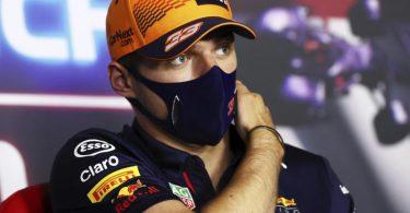 Max Verstappens Ansage vor dem Rennen in Ungarn: «Ich bin definitiv bereit.». Foto: Clive Rose/Pool Getty Images/AP/dpa