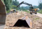 Unter anderem mit verstärkten Dämmen und Deichen wollen die Grünen Flutkatastrophen vorbeugen. Foto: Stefan Sauer/dpa