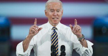 US-Präsident Joe Biden hat für ein massives Infrastrukturpaket geworben. Foto: Matt Rourke/AP/dpa