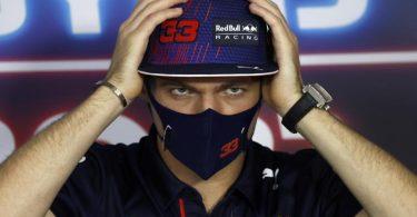 Kritisiert das Verhalten von Lewis Hamilton und dem Mercedes-Rennstall nach dem Crash in Silverstone: Max Verstappen. Foto: Florion Goga/Pool Reuters/AP/dpa