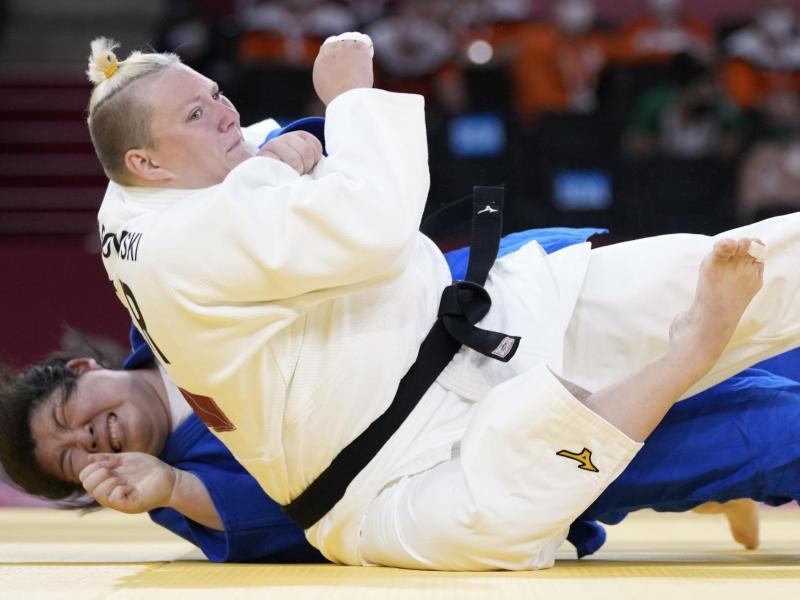 Jasmin Grabowski scheiterte an der Chinesin Xu Shiyan. Foto: Vincent Thian/AP/dpa