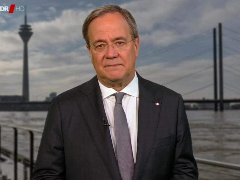 Armin Laschet (CDU), Ministerpräsident von Nordrhein-Westfalen. Foto: -/WDR/dpa