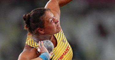 Christina Schwanitz scheiterte schon in der Qualifikation. Foto: Michael Kappeler/dpa