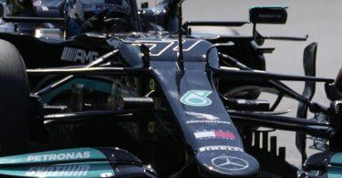 Trainingsschnellster in Ungarn: Der Finne Valtteri Bottas vom Team Mercedes. Foto: Darko Bandic/AP/dpa