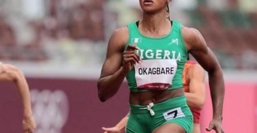 Blessing Okagbare aus Nigeria wurde wegen eines positiven Doping-Tests suspendiert. Foto: Martin Meissner/AP/dpa