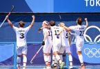 Die deutschen Hockey-Herren besiegten Argentinien mit 3:1. Foto: Marijan Murat/dpa