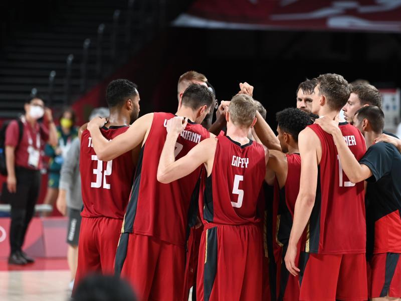 Auf die deutschen Basketballer wartet ein schwerer Gegner. Foto: Swen Pförtner/dpa