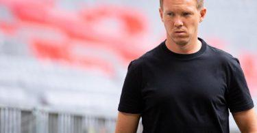 Julian Nagelsmann wartet noch auf seinen ersten Sieg als Bayern-Coach. Foto: Sven Hoppe/dpa