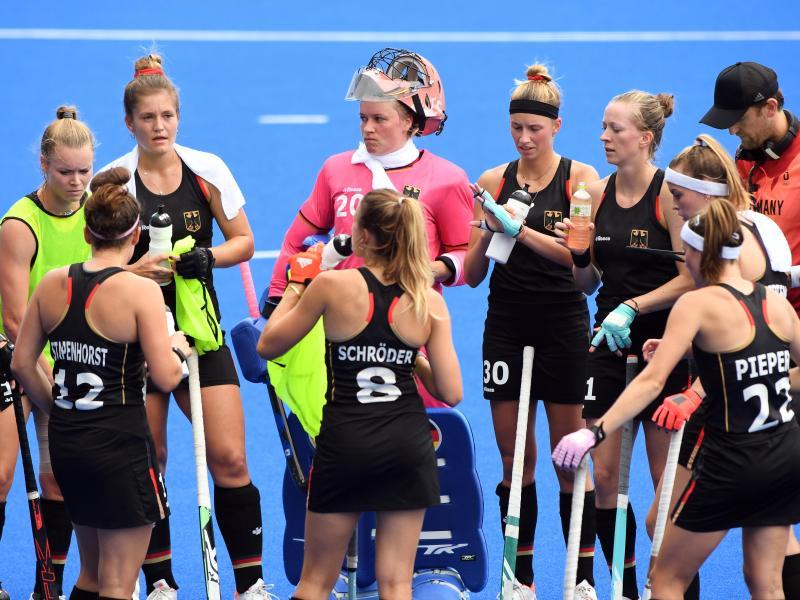 Die deutschen Hockey-Damen sind in Tokio im Viertelfinale an Argentinien gescheitert. Foto: Swen Pförtner/dpa