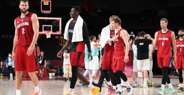 Die deutschen Basketballer sind im Viertelfinale ausgeschieden. Foto: Swen Pförtner/dpa