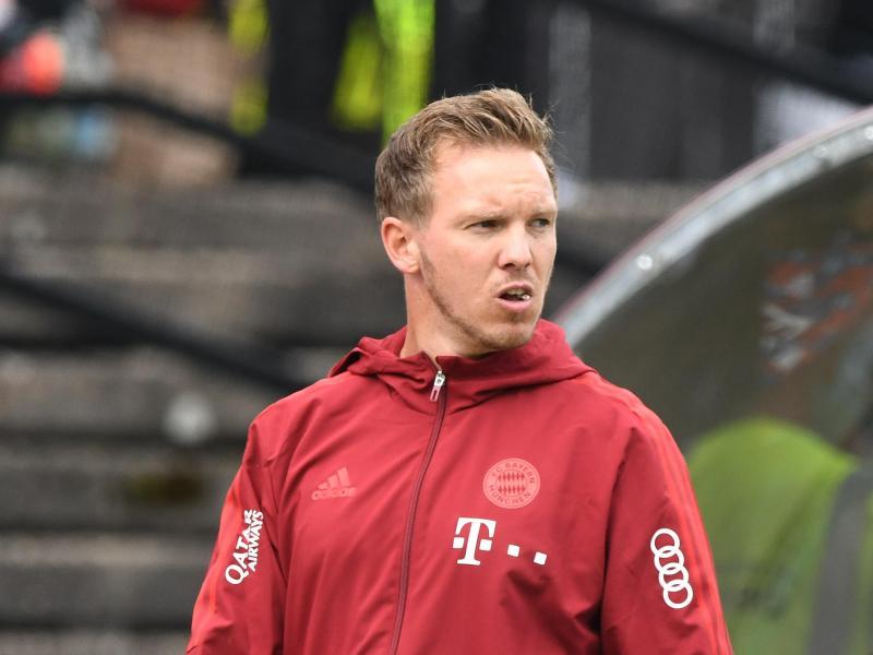 Die erste Bewährungsprobe für Trainer Nagelsmann und die Bayern musste coronabedingt abgesagt werden. Foto: Silas Stein/dpa