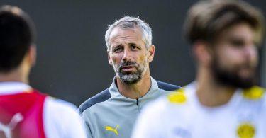 Startet als neuer BVB-Trainer: Marco Rose. Foto: David Inderlied/dpa