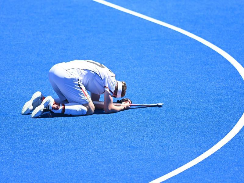 Jan Christopher Ruhr war nach der Niederlage gegen Indien bitter enttäuscht. Foto: Swen Pförtner/dpa
