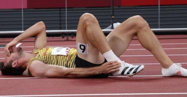 Niklas Kaul musste den Zehnkampf-Wettbewerb in Tokio verletzungsbedingt aufgeben. Foto: Li Ming/XinHua/dpa