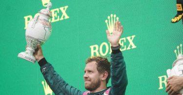 Konnte sich nur kurz über seinen zweiten Platz in Ungarn freuen: Sebastian Vettel. Foto: James Gasperotti/ZUMA Press Wire/dpa