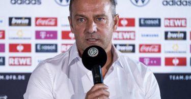 Startet als Bundestrainer: Löw-Nachfolger Hansi Flick wird vorgestellt. Foto: Thomas Boecker/DFB/dpa