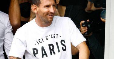Fix: Lionel Messi spielt für Paris Saint-Germain. Foto: Sameer Al-Doumy/AFP/dpa
