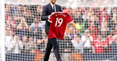 Der Wechsel von Abwehrspieler Raphael Varane von Real Madrid zu Manchester United ist jetzt offiziell. Foto: Martin Rickett/PA Wire/dpa