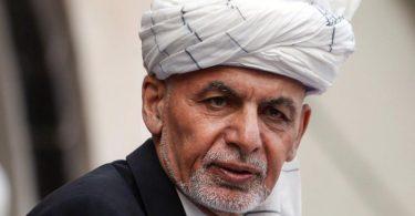 Aschraf Ghani, Präsident von Afghanistan, während seiner Amtseinführungszeremonie im Präsidentenpalast. Foto: Rahmat Gul/AP/dpa