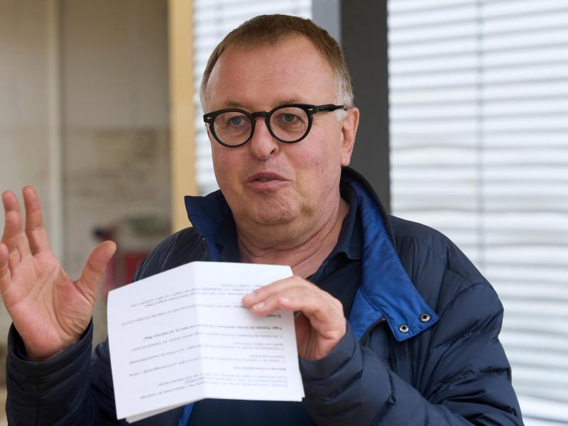 Landrat Jürgen Pföhler ist seit dem 11. August nicht mehr im Dienst. Foto: Thomas Frey/dpa