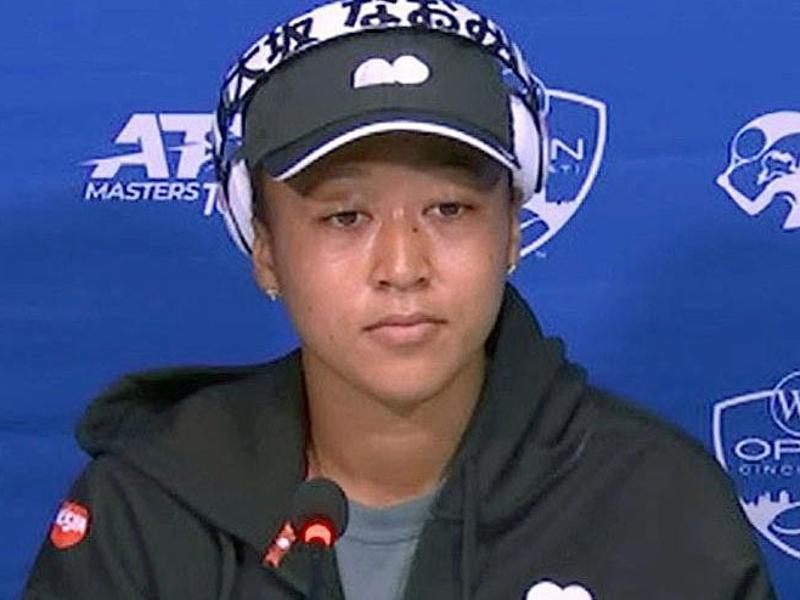 Naomi Osaka musste eine Pressekonferenz unterbrechen. Foto: -/kyodo/dpa