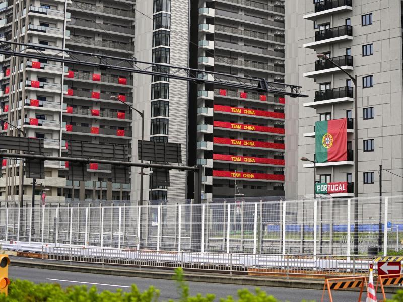 Wenige Tage vor der Eröffnung der Paralympics in Tokio hat es den ersten Corona-Fall im Athletendorf gegeben. Foto: -/kyodo/dpa