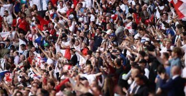 Beim EM-Finale im Wembley-Stadion waren 60.000 Zuschauer zugelassen. Foto: Christian Charisius/dpa