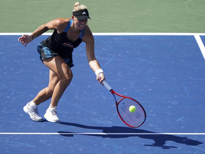 Steht in Cincinnati im Halbfinale: Angelique Kerber. Foto: Kareem Elgazzar/The Cincinnati Enquirer/AP/dpa