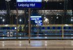 Leere Bahnsteige auch in Leipzig. Foto: Hendrik Schmidt/dpa-Zentralbild/dpa