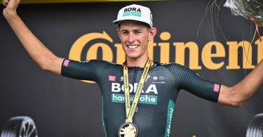Bei der Deutschland Tour am Start: Tour-de-France-Etappensieger Nils Politt. Foto: Pete Goding/BELGA/dpa