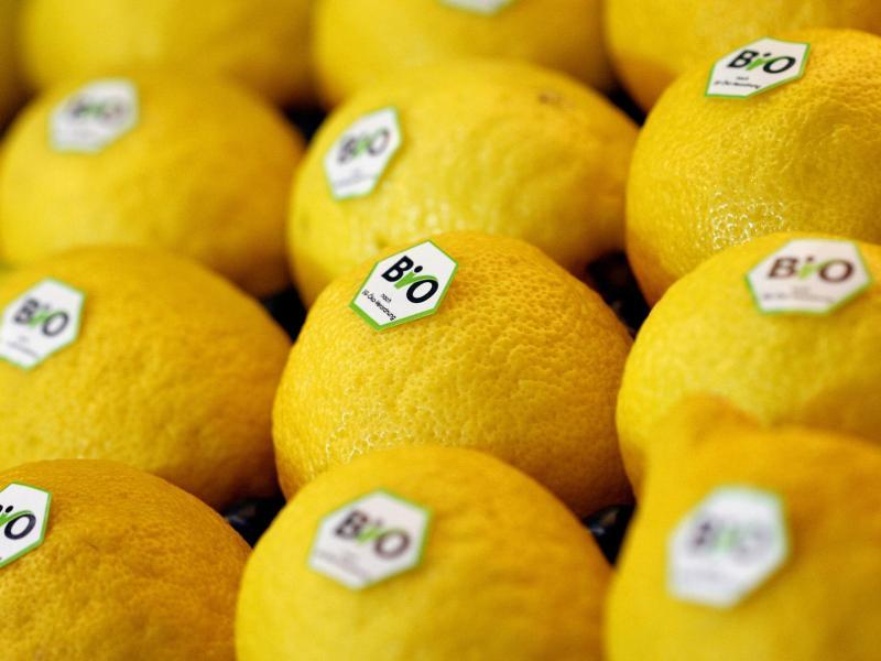 Wer Zitronen für einen Zitronenabrieb verwenden möchte, sollte dafür ausschließlich zu Bio-Zitronen greifen. Foto: Daniel Karmann/dpa/dpa-tmn