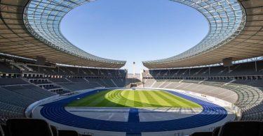 Der 1. FC Union Berlin nutzt die Heimstätte von Hertha BSC. Foto: Andreas Gora/dpa