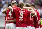 Der SCFreiburg hat das baden-württembergische Bundesliga-Duell mit dem VfBStuttgart für sich entschieden. Foto: Tom Weller/dpa