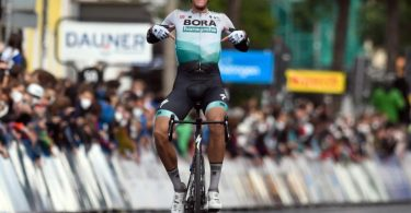 Nils Politt hat die dritte Etappe der Deutschland Tour gewonnen. Foto: Bernd Thissen/dpa