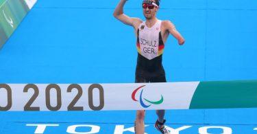 Triathlet Martin Schulz gewann bei den Paralympics die erste Goldmedaille für das deutsche Team. Foto: Karl-Josef Hildenbrand/dpa