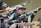 Holte Para-Gold mit dem Luftgewehr: Natascha Hiltrop. Foto: Xiong Qi/XinHua/dpa