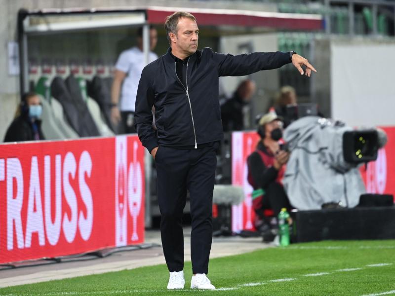 Kam bei seinem Bundestrainer-Debüt zu einem Pflichtsieg gegen Liechtenstein: Hansi Flick. Foto: Sven Hoppe/dpa