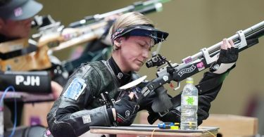 Holte in Tokio ihre zweite Medaille: Natascha Hiltrop. Foto: Xiong Qi/XinHua/dpa