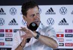 DFB-Direktor Oliver Bierhoff hat die hohen Ziele der deutschen Fußball-Nationalmannschaft bekräftigt. Foto: Thomas Boecker/DFB/dpa