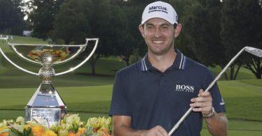 Golfer Patrick Cantlay ist nun 15 Millionen US-Dollar reicher. Foto: Brynn Anderson/AP/dpa