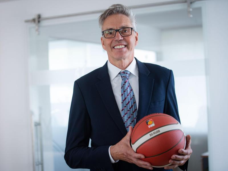 Wird neuer Basketball-Bundestrainer:Gordon Herbert. Foto: Marius Becker/dpa