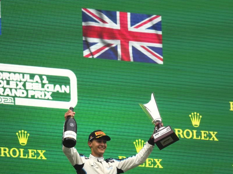 Fährt diese Saison noch für Williams und ab 2022 für Mercedes: Der Brite George Russell. Foto: Francisco Seco/AP/dpa