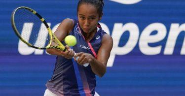 Leylah Fernandez gewann in New York gegen die Ukrainerin Jelina Switolina. Foto: Elise Amendola/AP/dpa