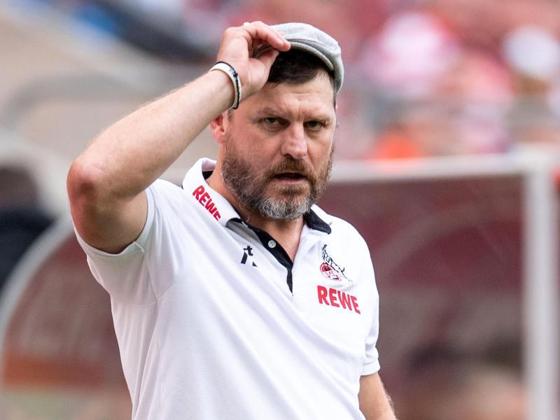 Trainer Steffen Baumgart hat seine Spieler längst mitgenommen auf den neuen Erfolgskurs. Foto: Marius Becker/dpa