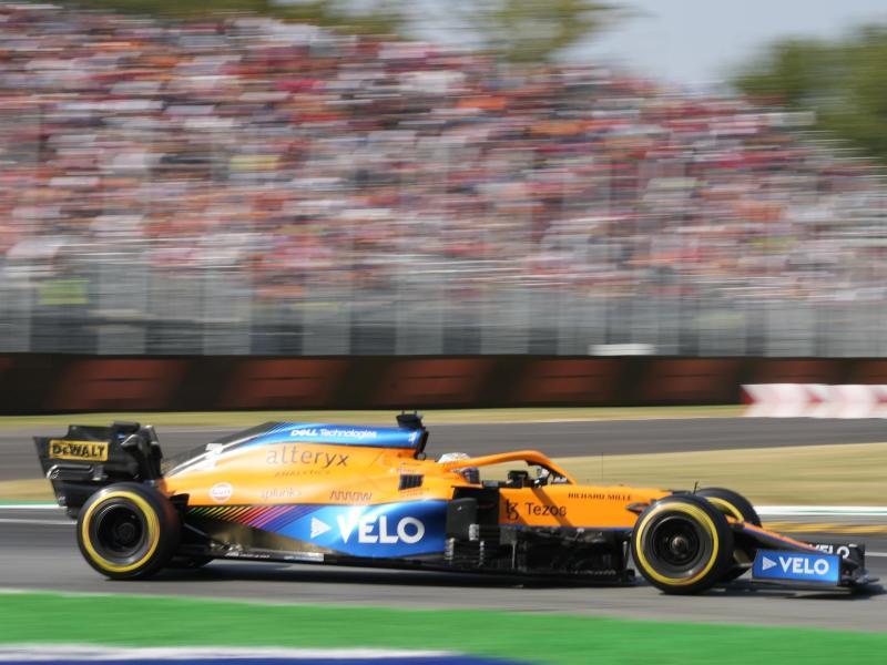 Siegte in Monza: Daniel Ricciardo. Foto: Luca Bruno/AP/dpa