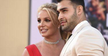 Britney Spears und Sam Asghari 2019 bei einer Filmpremiere in Los Angeles. Foto: Jordan Strauss/Invision via AP/dpa